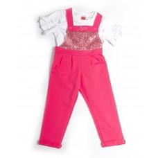 Σαλοπέτα ροζ με μπλούζα 211171 Joyce