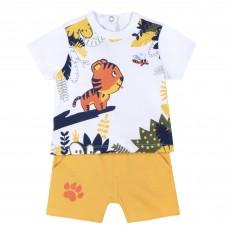 Σετ με βερμούδα κίτρινι τίγρης 76633 Chicco