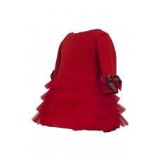 Φόρεμα κόκκινο 707  M&B Fashion